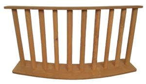 Rustic Fence Curved 240x60cm-0