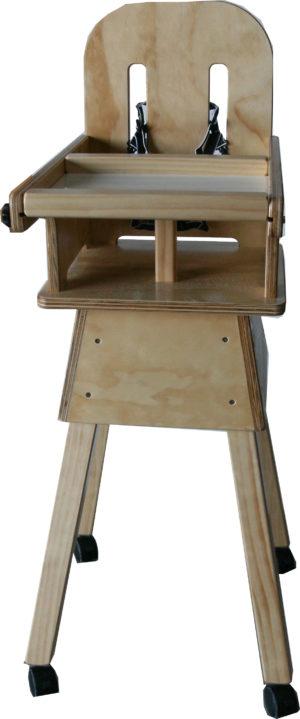 Solid Wooden Highchair-0