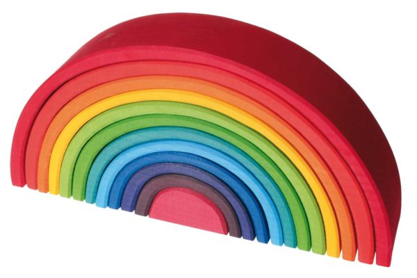 Large Rainbow Blocks (12pcs)-8553