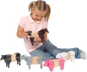 Farm Animals Block Mates (20pcs)-0