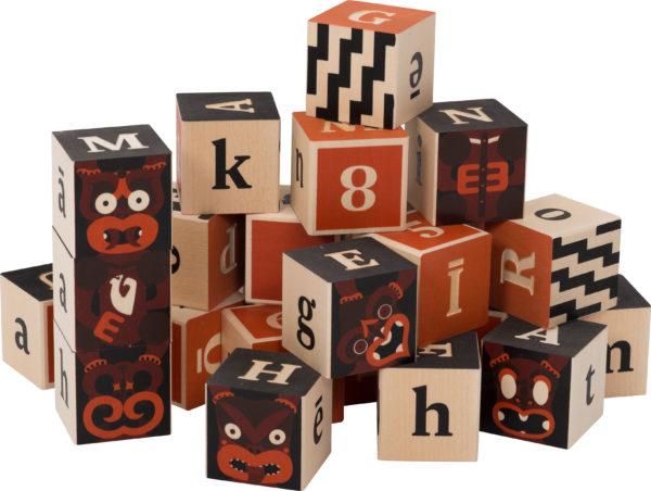 Maori Alphabet Blocks-0