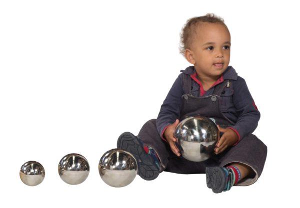 Stainless Steel Sensory Ball Set (4pcs)-0