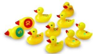 Number Fun Ducks (10pcs)-0