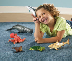 Jumbo Ocean Animals (6pcs)-0