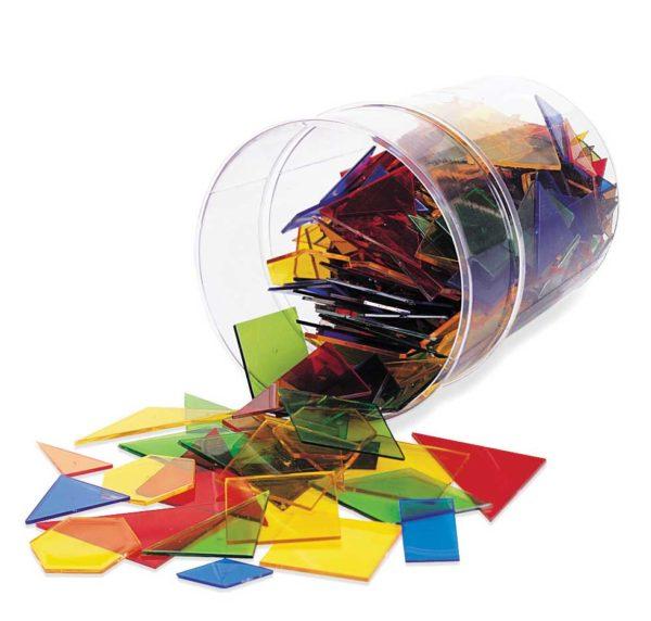 Transparent Power Polygons (450pcs)-0