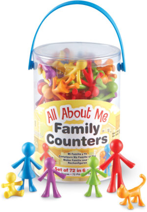 All About Me Family Counters (72pcs)-0