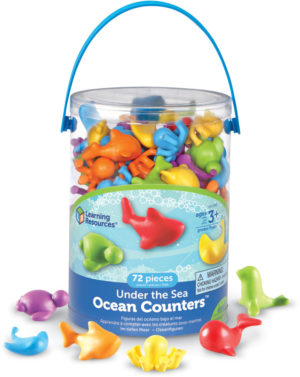 Under The Sea Counters (72pcs)-0