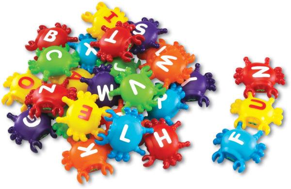 Alphabet Link Crabs (26pcs)-0