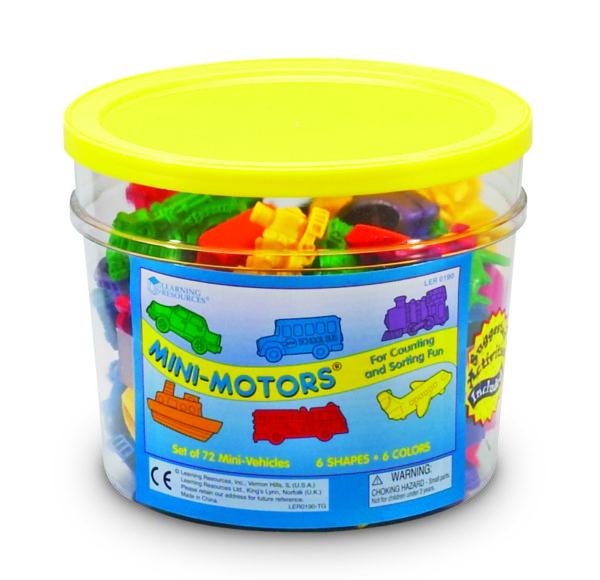 Mini Motors Counters (72pcs)-14462