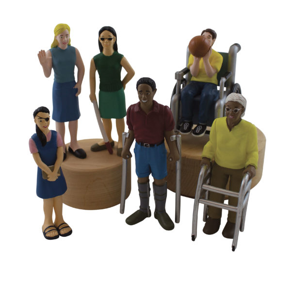 Life-like People with Disabilities (6pcs)-0