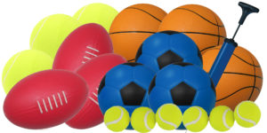 Fun-Time Sports Balls Set (19pcs)-0