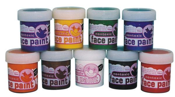 Face Paint Set 70ml (9pcs)-0
