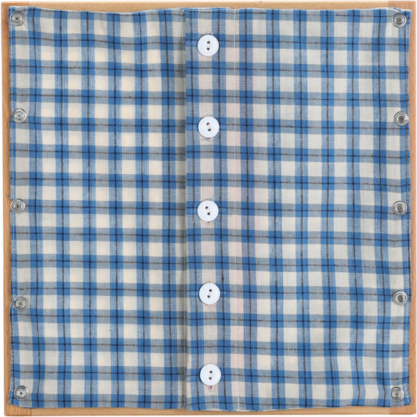 Buttoning Frame with Small Buttons-0