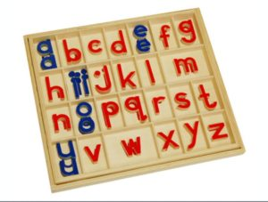 Small Movable Alphabet in Box-0