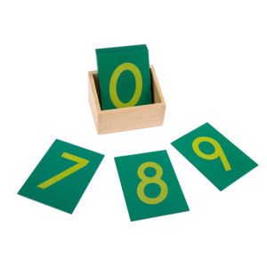 Sandpaper Numbers with Box (11pcs)-0