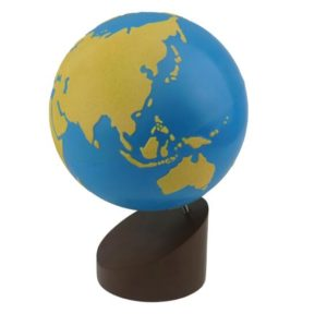 Globe of Land & Water Sandpaper-0