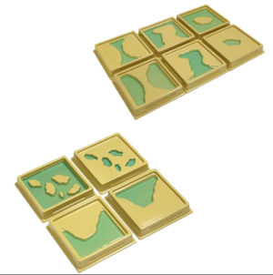 Land & Water Form Trays (10pcs)-0
