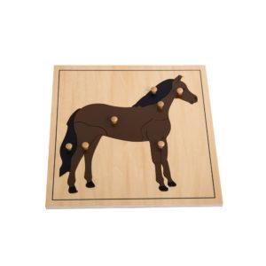 Horse Puzzle (7pcs)-0