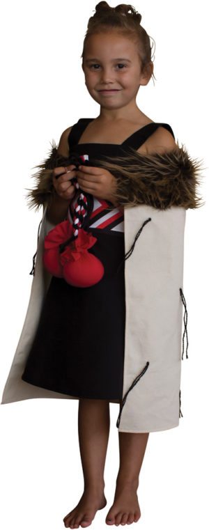 Child's Maori Cloak Small-0
