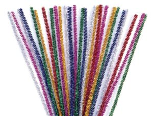 Glitter Pipe Cleaners (100pcs)-0