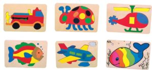 Preschool Puzzles Set of 6-0