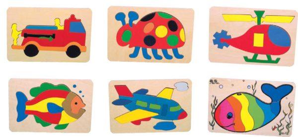 Preschool Puzzles Set of 6-0