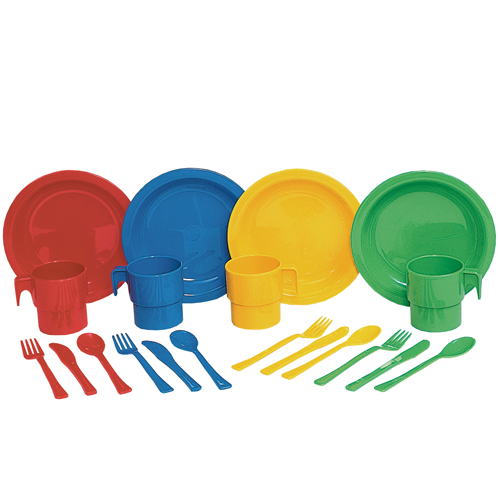 Indestructible Play Dishes (20pcs)-0