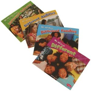 Valuing Differences Book Set (4pcs)-0
