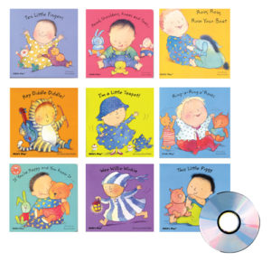 Sing & Read Along Books & CD Set (10pcs)-0