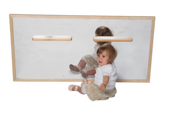 Infant Wall Mirror with Handles-0