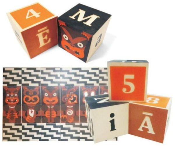Maori Alphabet Blocks-5520