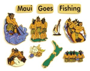 Maui Goes Fishing Legend (11pcs)-0