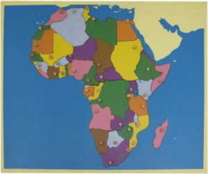 Puzzle Map of Africa-0
