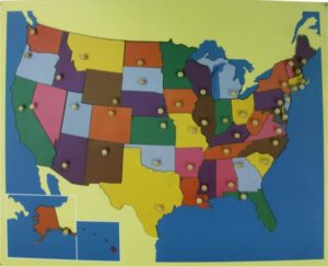 Puzzle Map of USA-0