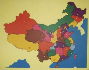 Puzzle Map of China-0