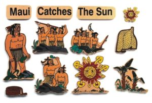 Maui Catches the Sun Legend (12pcs)-0