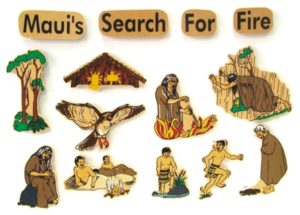 Maui's Search for Fire Legend (14pcs)-0