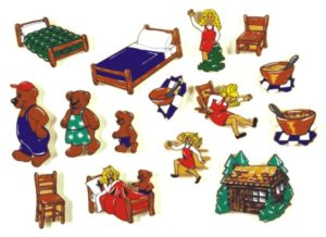 Goldilocks Magnetic Story (15pcs)-0