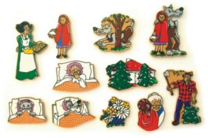 Red Riding Hood Magnetic Story (11pcs)-0