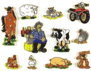 Old MacDonald Magnetic Story (11pcs)-0