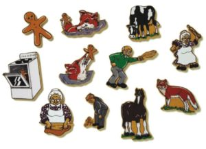 Ginger Bread Man Magnetic Story (11pcs)-0
