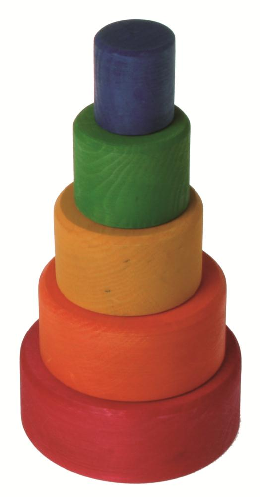 Coloured Stacking Bowls-0