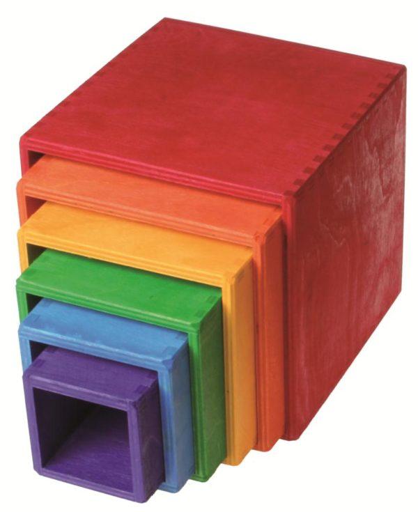 Large Stacking Boxes (6pcs)-5876