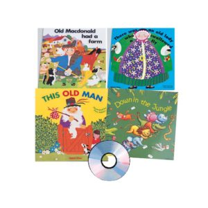 Sing-along Big Books Set (5pcs)-0