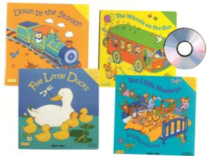 Song & Rhyme Big Books Set (5pcs)-0