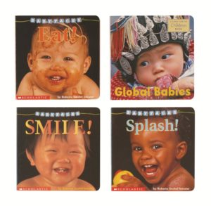 Baby Faces Board Books (4pcs)-0