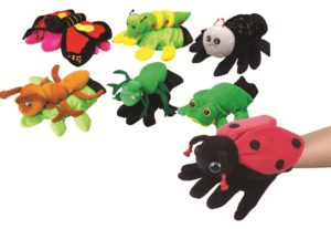 Garden Friends Glove Puppets (7pcs)-0