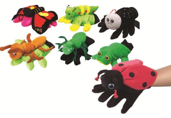 Garden Friends Glove Puppets (7pcs)-0