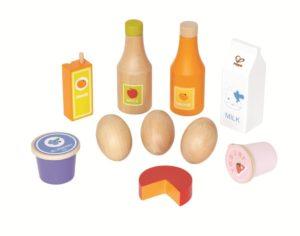 Health Basics Wooden Food Set (10pcs)-0
