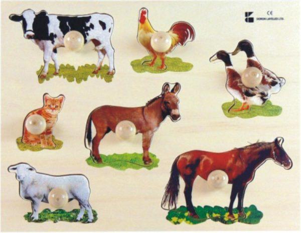 Farm Animals Puzzle (7pcs)-0